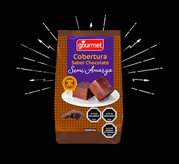 COBERTURA DE CHOCOLATE SEMI-AMARGA