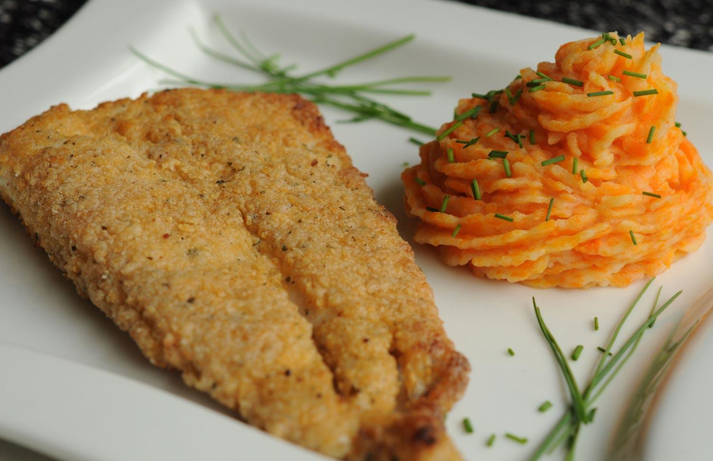 Pollo o pescado apanado gourmet gourmet - Platos gourmet con pescado ...
