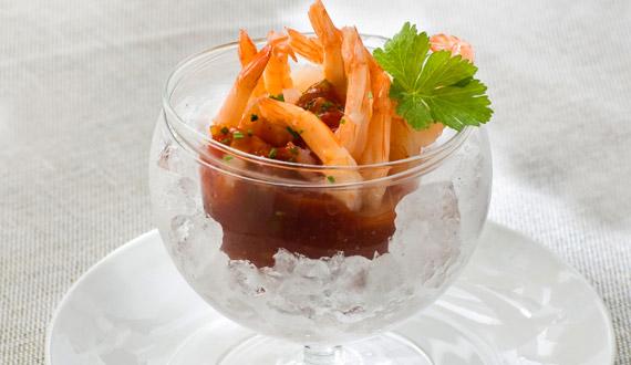 ¿Cómo hacer camarones en salsa?