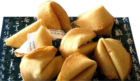 Receta galletas de la fortuna