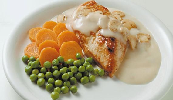¿Cómo hacer pollo con champiñones?