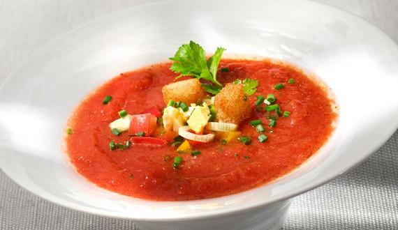 Sopa Fría de Tomates Receta