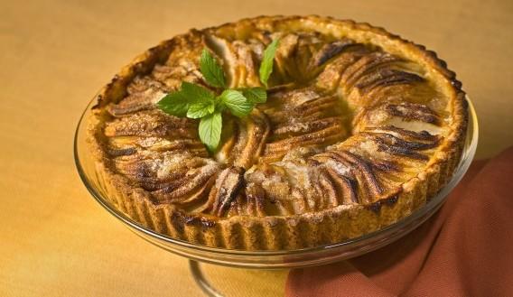 Receta Kuchen de Manzana