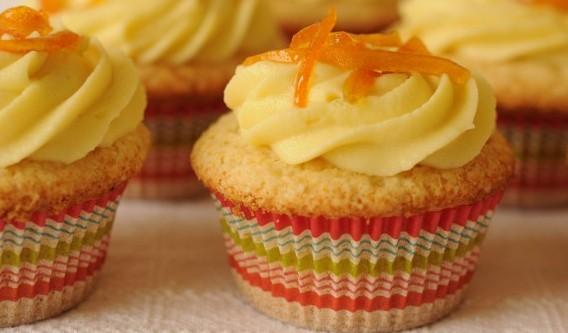 Receta Cupcakes de Naranja