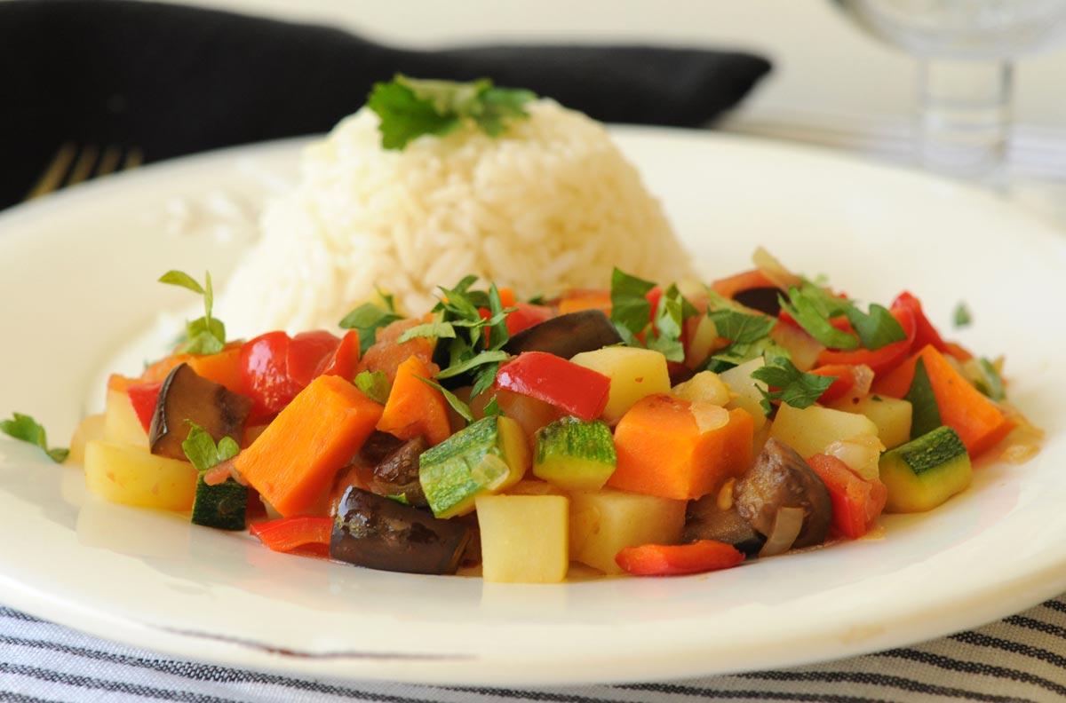 Receta Guiso de Verduras