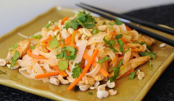 ¿Cómo hacer Pad Thai de Pollo?