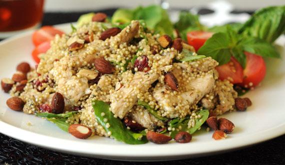 Receta Ensalada de Quinoa y Pollo