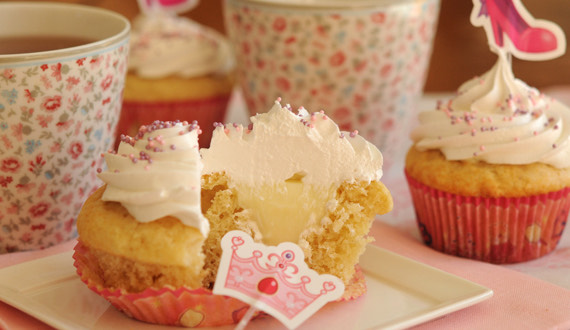 Receta Cupcakes de Pie de Limón