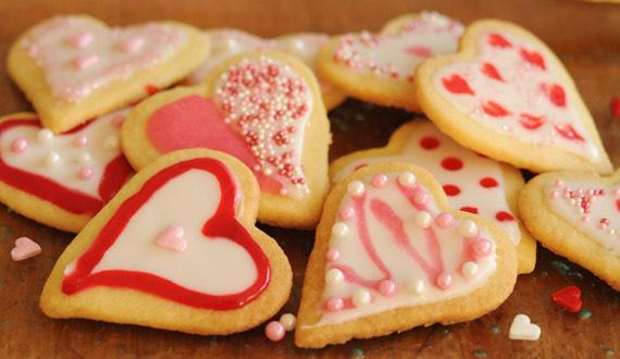Receta Galletas de Corazón