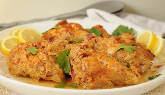 ¿Cómo hacer pollo tandoori?