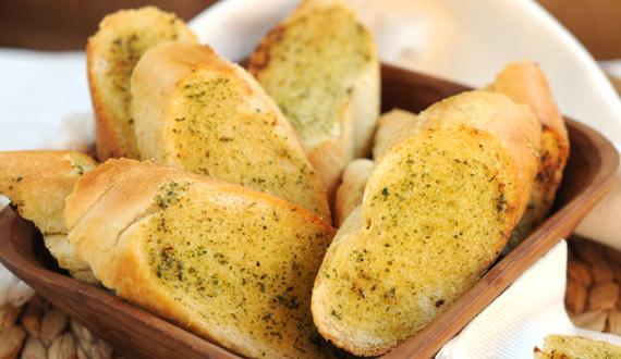 Receta pan de ajo