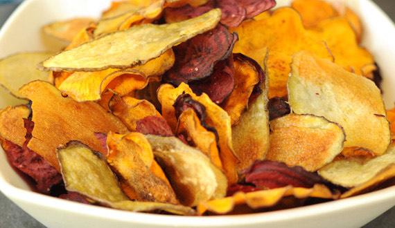 Chips De Vegetales Horneados Gourmet