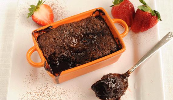 Postre Tibio de Chocolate