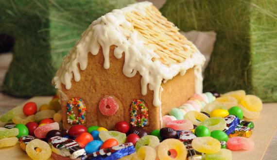 Casa de Jengibre para Navidad