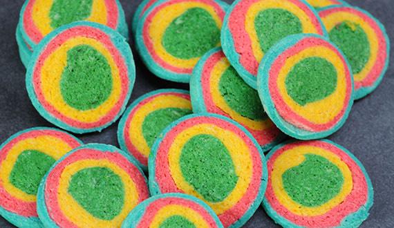 ¿Cómo hacer galletas de colores?