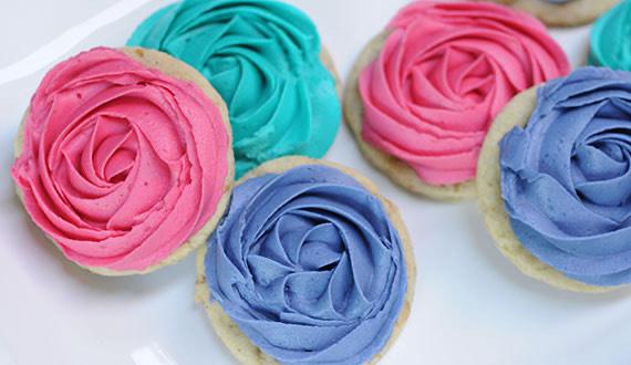 Receta galletas de flores