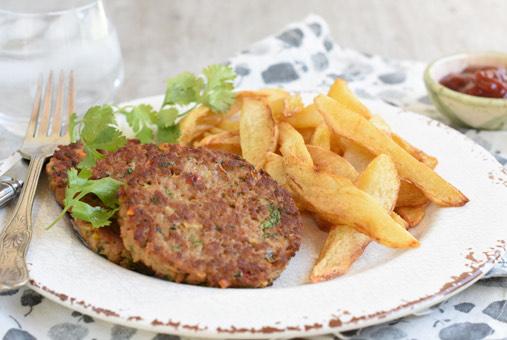 ¿Cómo hacer hamburguesas de carne de soya?