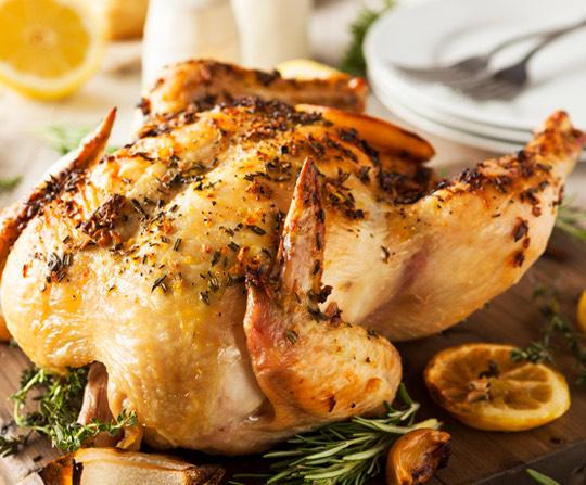 ¿Cómo hacer pollo a las finas hierbas?