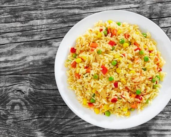 ¿Cómo hacer arroz primavera?