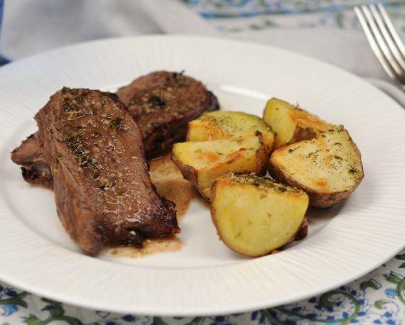 Receta de asado de carne al horno gourmet - Carnes rellenas al horno ...