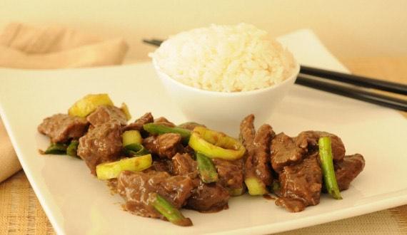 Receta Carne Mongoliana