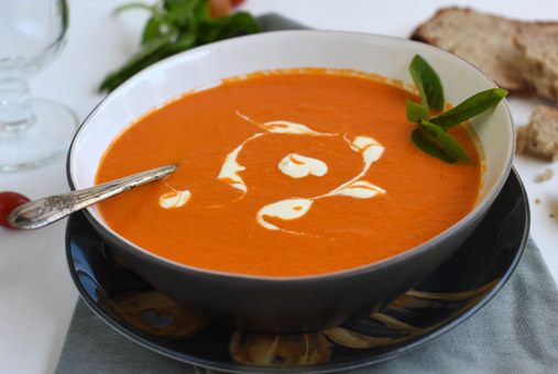 ¿Cómo hacer crema de tomate?