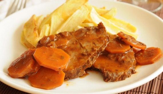 Receta Carne Mechada
