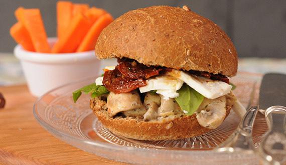 ¿Cómo hacer sandwich vegetariano?