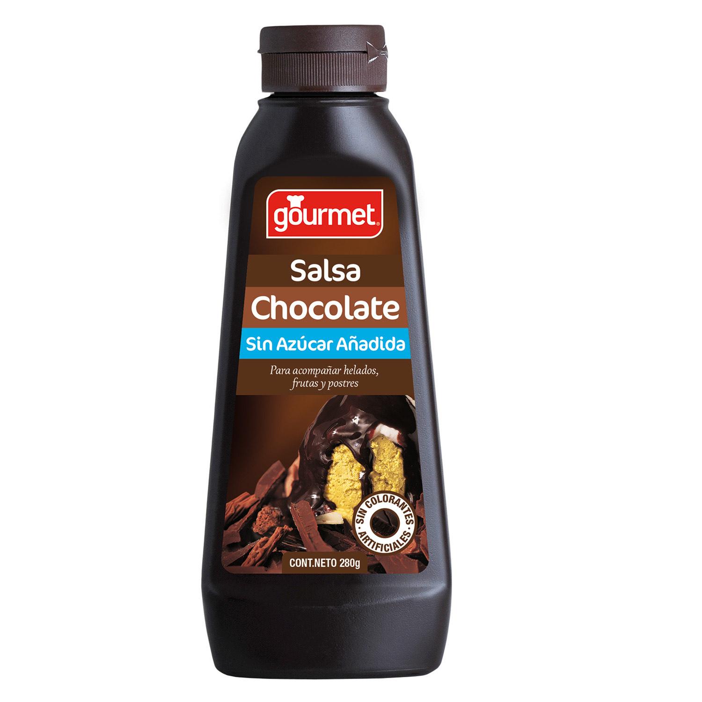 Salsa de Chocolate Sin Azúcar Añadida