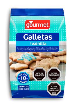 Mezcla lista para Galletas Vainilla