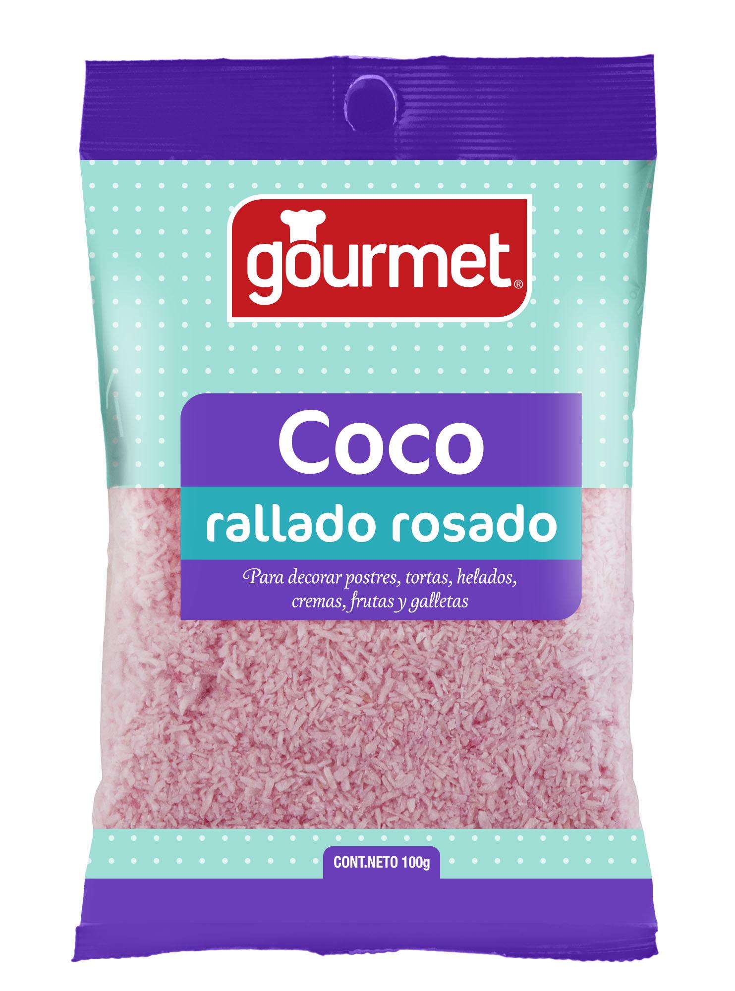 Coco Rallado Rosado