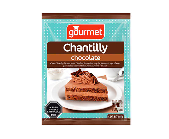 Base para Crema Chantilly Chocolate