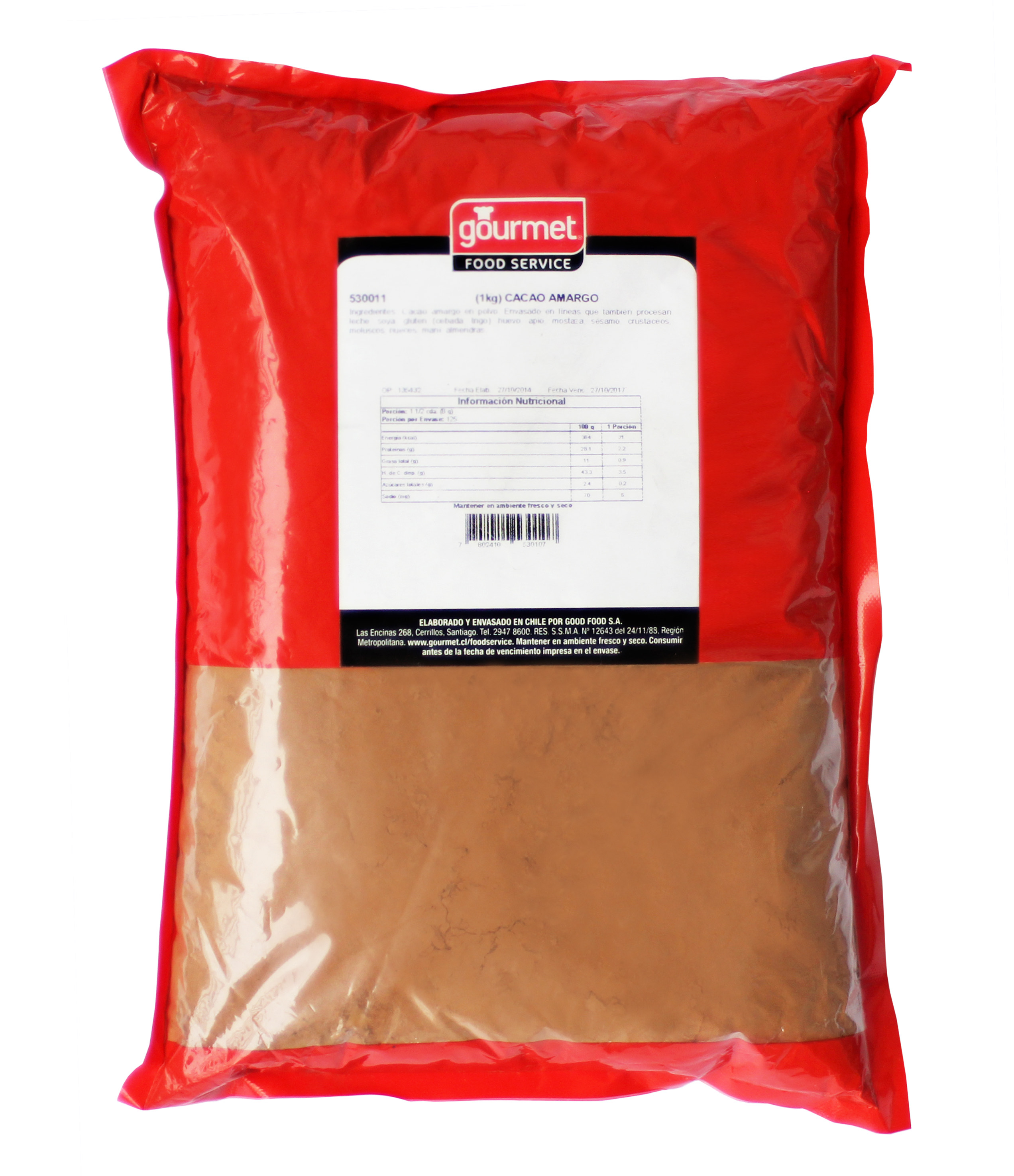 Cacao Amargo en Polvo Food Service