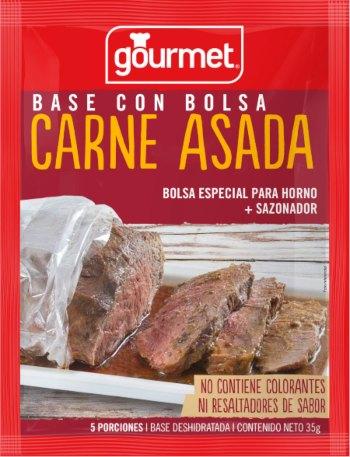 Base con bolsa para Carne Asada
