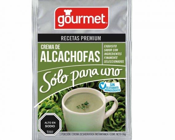 Crema de Alcachofas Sólo Para Uno