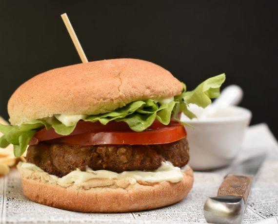 Receta hamburguesas de lentejas