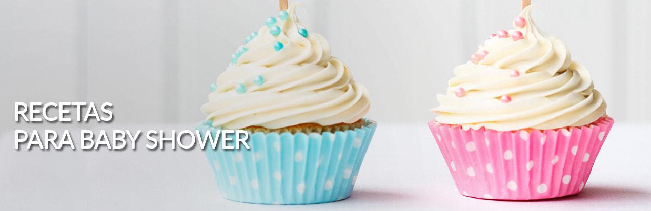 Recetas de Comida para Baby Shower