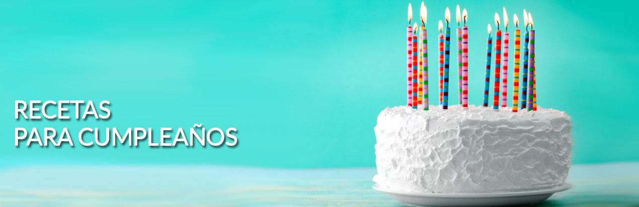 Recetas de Comidas para Cumpleaños