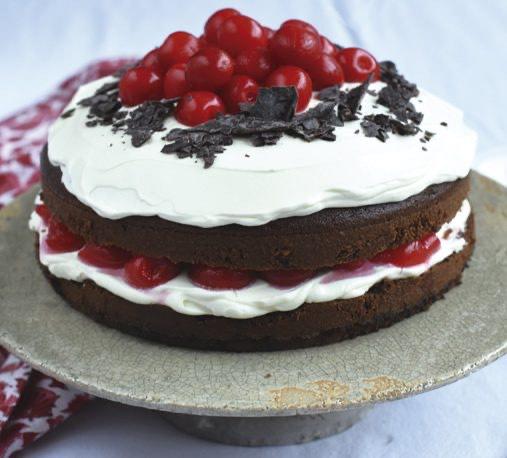 ¿Cómo hacer torta de selva negra?