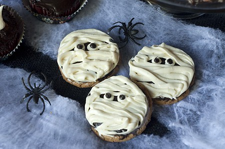Receta galletas de momia