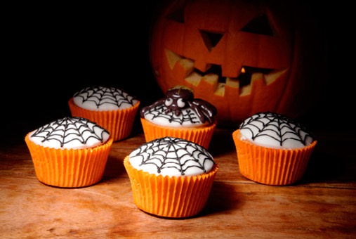 Cupcakes de Chocolate Halloween