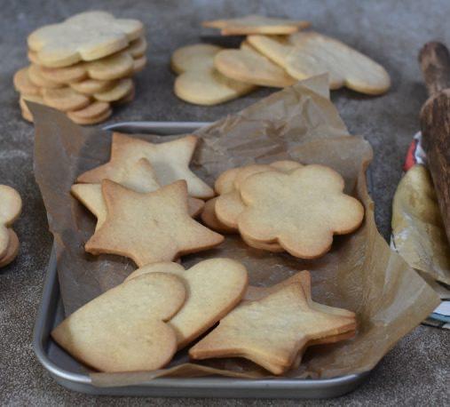 ¿Cómo hacer galletas de mantequilla?