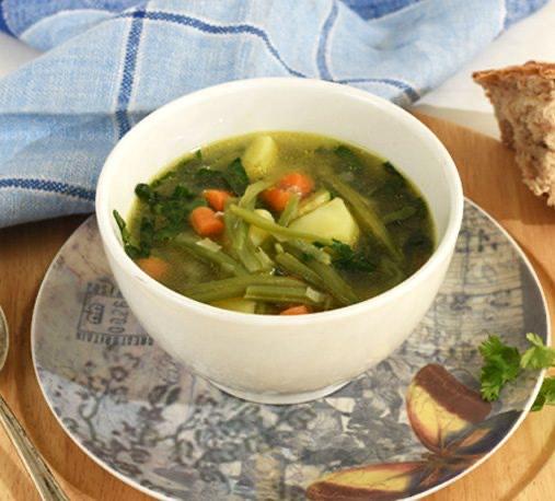 Receta sopa de verduras