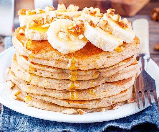 ¿Cómo hacer Panqueques de Avena y Plátano?
