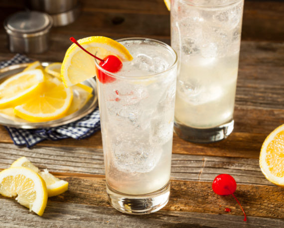 Tom collins receta