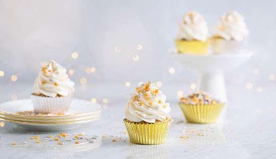 Cupcakes de Pie de Limón Receta