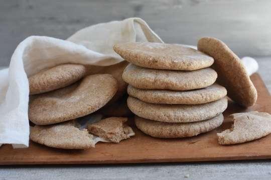 ¿Cómo hacer pan pita integral?