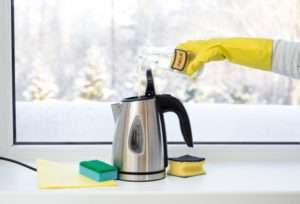 ¿cómo limpiar hervidor?