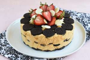 Receta torta de galletas