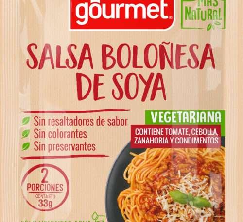 Salsa Boloñesa de Soya